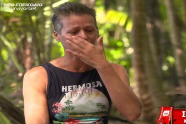 Survivor 4: Κατέρρευσε η Σοφία -  «Είναι ντροπή να μου λένε πως προβάλω τα παιδιά μου! Δεν τα