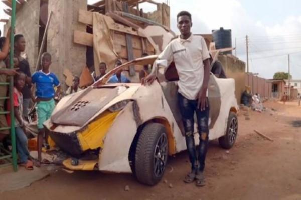 18χρονος Γκανέζος κατασκεύασε αυτοκίνητο με 150 ευρώ (Video)