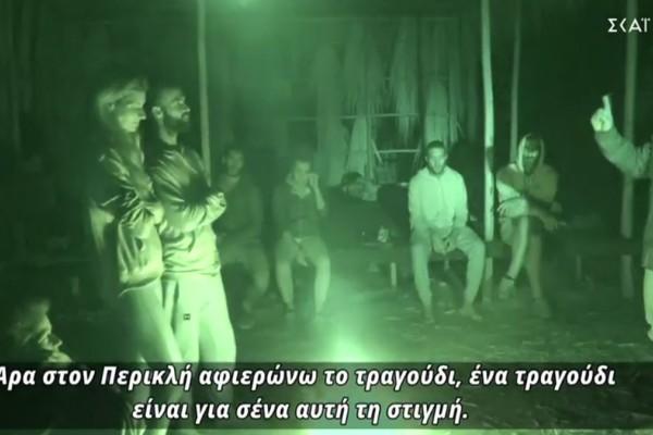Survivor 4: Πανηγύριζαν στην κόκκινη παραλία για την αποχώρηση της Ασημίνας - Το έριξε στα τραγούδια ο Τριαντάφυλλος (video)