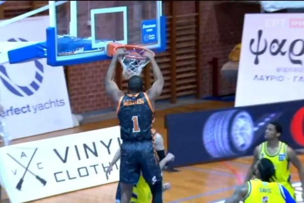 Basket League: Ασταμάτητο το Λαύριο, «έριξε» και τον Προμηθέα