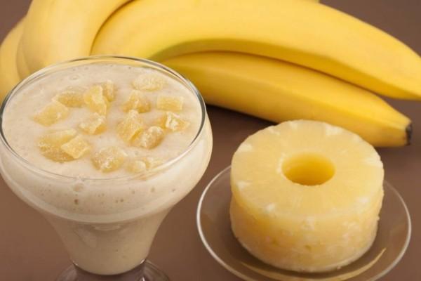 Ανανάς & Μπανάνα: Εξαλείψτε το κοιλιακό λίπος με αυτόν τον ισχυρό συνδυασμό