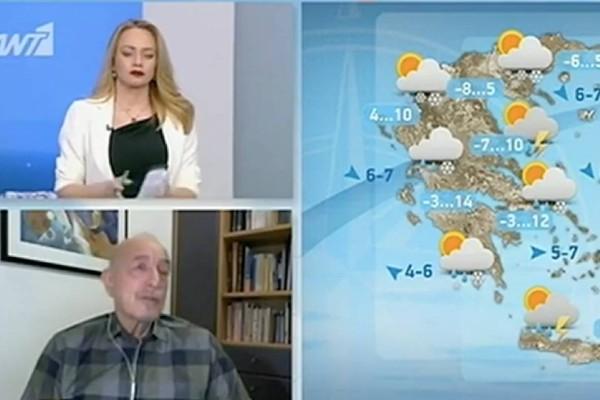 «Παγώνει όλη η χώρα και στην Αττική ο χιονιάς…» - Ο Τάσος Αρνιακός προειδοποιεί