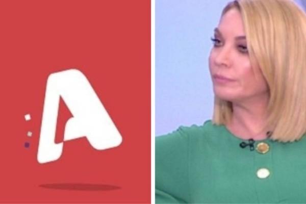 Τατιάνα Στεφανίδου: Τρόμος στον Alpha με τα νούμερα τηλεθέασης