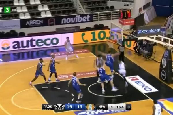 Basket League: Πήρε το ντέρμπι με Ηρακλή ο ΠΑΟΚ! (Video)