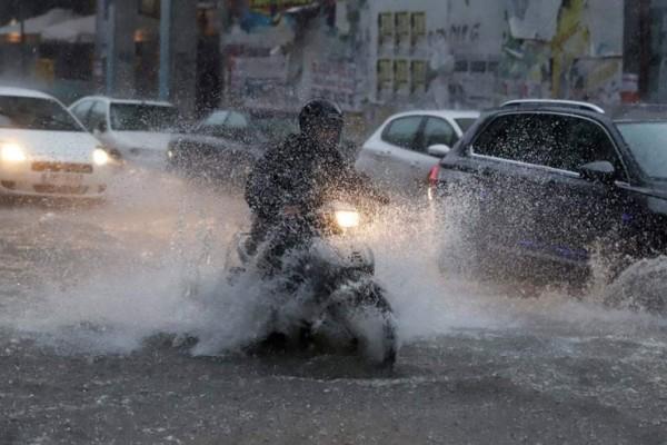 Εκτακτο δελτίο επιδείνωσης καιρού με ισχυρές βροχές και καταιγίδες