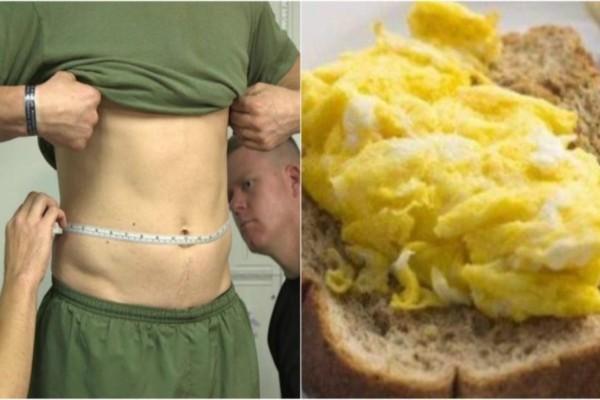 Στρατιωτική δίαιτα: Οδηγίες για να χάσετε μέχρι και 5 κιλά σε μιάμιση εβδομάδα