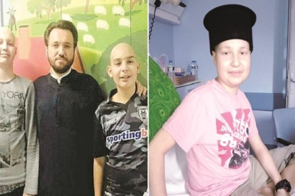 Πατέρας Νικόλαος Παπαγεωργίου: Ένας άγγελος με ράσα στηρίζει τα παιδιά με καρκίνο