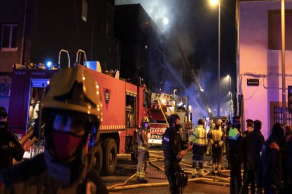 Συναγερμός στην Ισπανία: Πυρκαγιά ξέσπασε σε οίκο ευγηρίας -