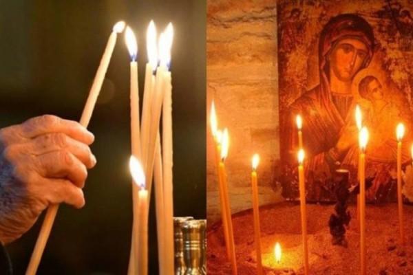 Τι συμβολίζει και γιατί ανάβουμε κερί στην εκκλησία