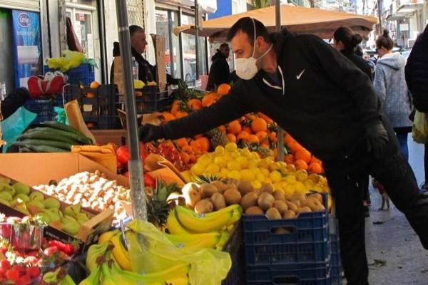 Λαϊκές αγορές: Τι αλλάζει από Δευτέρα - Ποια είδη επιτρέπεται να πωλούνται