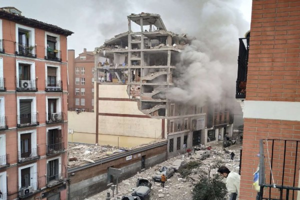 Συναγερμός στη Μαδρίτη: Σημειώθηκε ισχυρή έκρηξη στο κέντρο της πόλης (video)