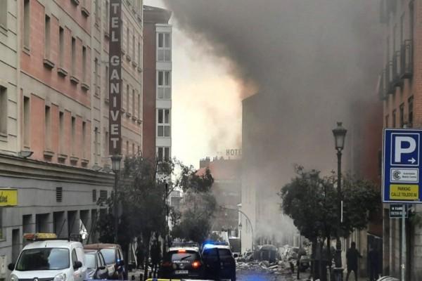 Συναγερμός στη Μαδρίτη: Σκηνές τρόμου μετά την έκρηξη - Στους δύο οι νεκροί (video)