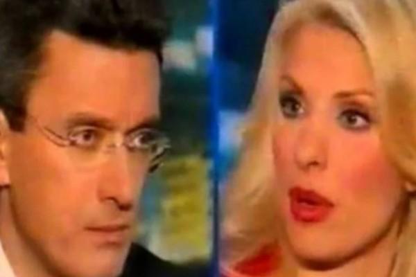Νίκος Χατζηνικολάου: Στριμώχνει σε ΒΙΝΤΕΟ την Ελένη Μενεγάκη -