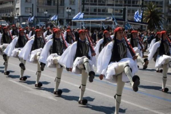 Κανονικά θα γίνει η στρατιωτική παρέλαση της 25η Μαρτίου