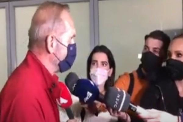 Ο Κωστόπουλος επέστρεψε από το Ντουμπάι και μίλησε για «δολοφονία χαρακτήρων» (video)