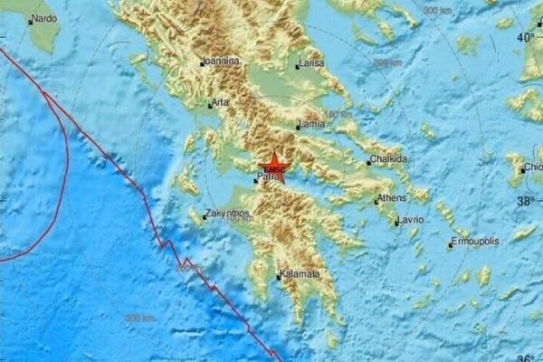 Συνεχίζονται οι σεισμοί στη Ναύπακτο