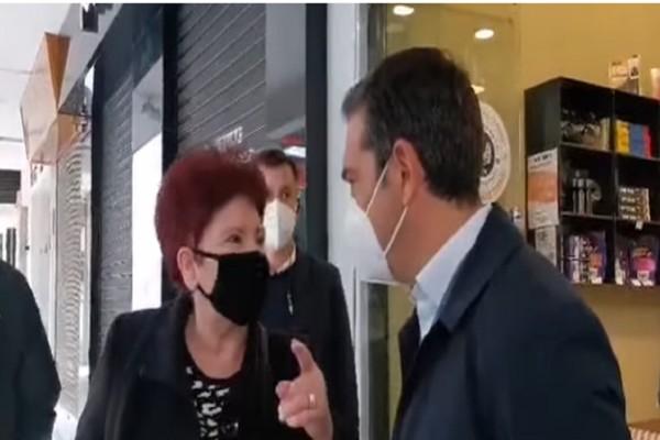 Συνταξιούχος σε Τσίπρα: «Μας κατέστρεψε... Βάλε τα δυνατά σου να βγεις πάλι» (Video)
