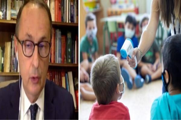 «Τα σχολεία μπορεί να ξανακλείσουν» - Εφιαλτικό «όνειρο» Νίκου Σύψα για τα παιδιά (Video)