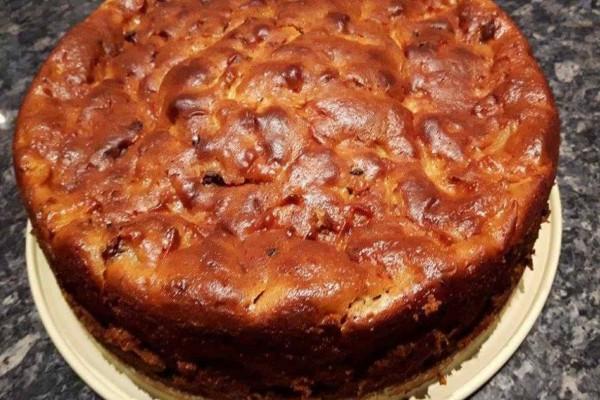 Μαμαδίστικο κέικ με μήλα και σοκολάτα!