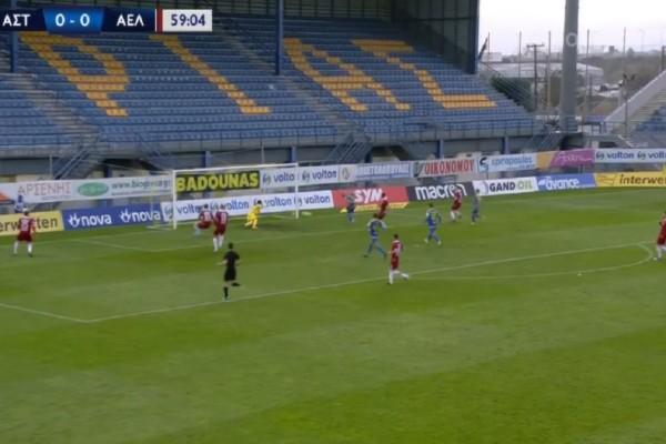 Super League: Ο Μπαράλες ξελάσπωσε τον Αστέρα και βύθισε την ΑΕΛ (Video)
