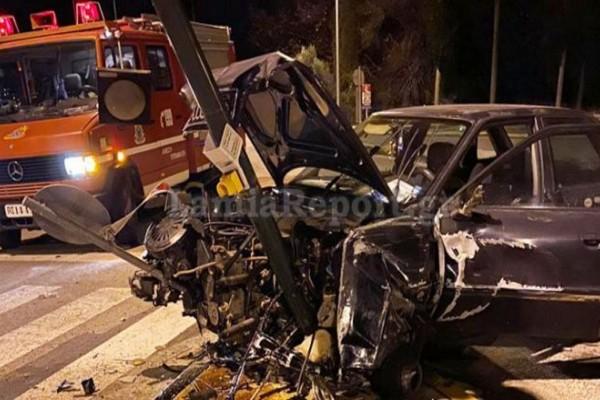 Τροχαίο στη Μακρακώμη: Οδηγός έχασε τον έλεγχο του οχήματος του - Πόσοι τραυματίστηκαν