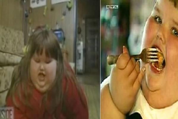 8χρονη έτρωγε ότι έβρισκε μπροστά της και έφτασε 190 κιλά - Σήμερα είναι μόνο 40 και κανείς δεν την γνωρίζει (Video)