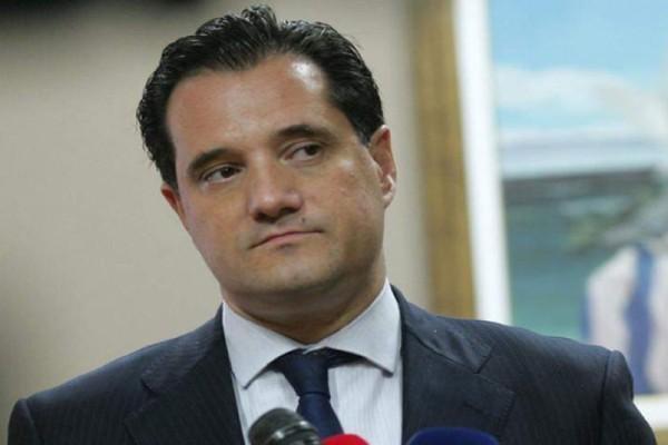 Τα μαζεύει μετά τον σάλο ο Άδωνις Γεωργιάδης: «Λεκτική υπερβολή η δήλωση μου» (Video)