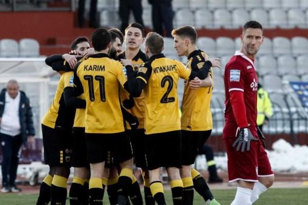 Super League: Ματσάρα στη Λάρισα και απόδραση της ΑΕΚ
