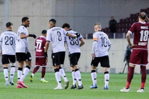 Κύπελλο Ελλάδος: Με άνεση στη Λάρισα στο ντεμπούτο Καγκάβα ο ΠΑΟΚ