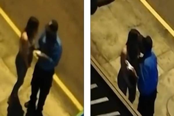 Σάλος: Αστυνομικός φίλησε νεαρή γυναίκα στο στόμα αντί να της κόψει πρόστιμο! (Video)
