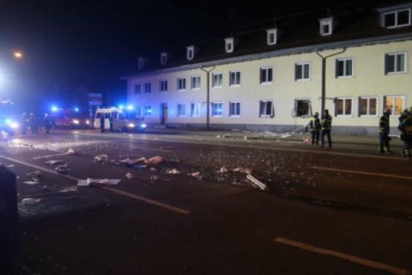 Συναγερμός στη Γερμανία: Έκρηξη με πολλούς τραυματίες στη Βαυαρία