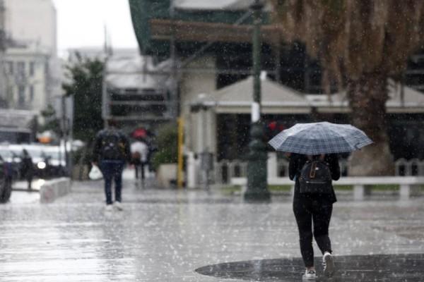 Έκτακτο δελτίο επιδείνωσης καιρού: Έρχονται βροχές και καταιγίδες - Που αναμένεται χαλάζι