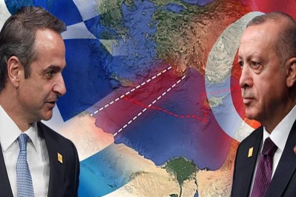 Προκλητική επίθεση Ερντογάν προς Κυριάκο Μητσοτάκη: «Να μάθει τα όρια του ο Έλληνας πρωθυπουργός»