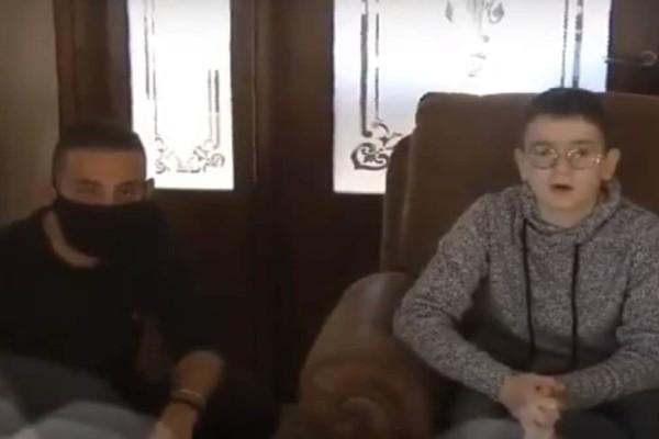 «Είμαι ο Φίλιππος και διαγνώστηκα με λευχαιμία» - Το συγκινητικό βίντεο 13χρονου που δίνει την μάχη του με τον καρκίνο (Video)