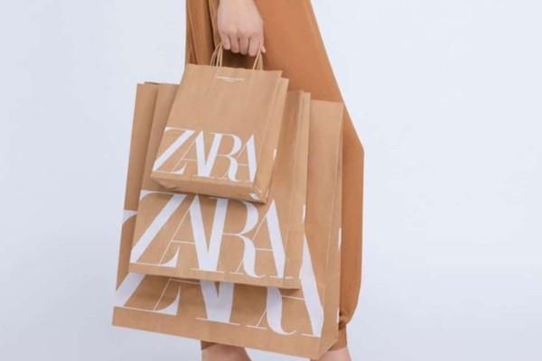 Zara: Φόρεμα animal print μόνο με 7,99€ από 22,99!