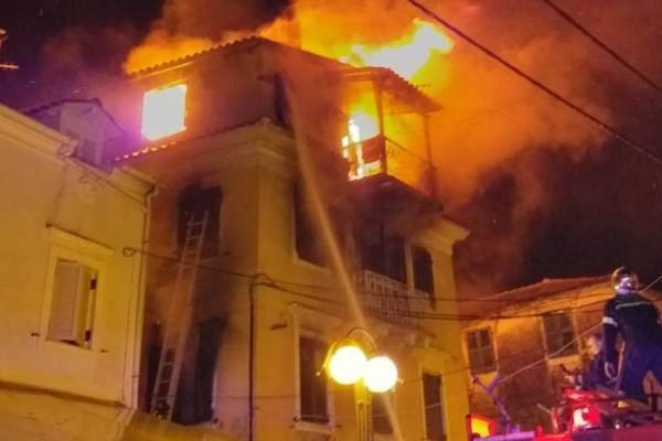 Τραγωδία στο Αίγιο: Νεκρός από φωτιά σε μονοκατοικία