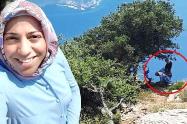 Άγριο έγκλημα: Σοκάρει το βίντεο που δείχνει τον Τούρκο Αϊσάλ να σπρώχνει την έγκυο γυναίκα του στον γκρεμό (video)