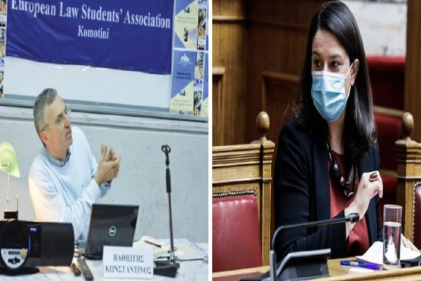 Θράκη: «Σατανίστρια η Κεραμέως»! Παραιτήθηκε on air καθηγητής του Δημοκρίτειου Πανεπιστημίου (Video)