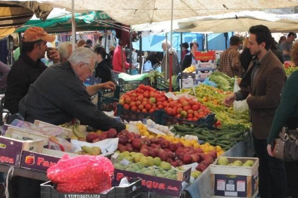 Lockdown: Κανονικά η λειτουργία των λαϊκών αγορών το Σαββατοκύριακο - Παραμένει η απαγόρευση κυκλοφορίας