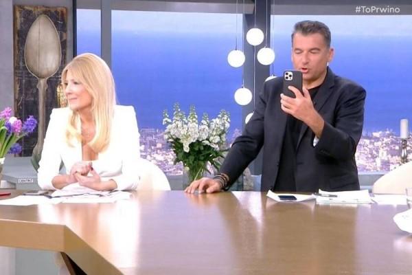 Πρωινό: Πρώτοι στην τηλεθέαση Λιάγκας - Σκορδά