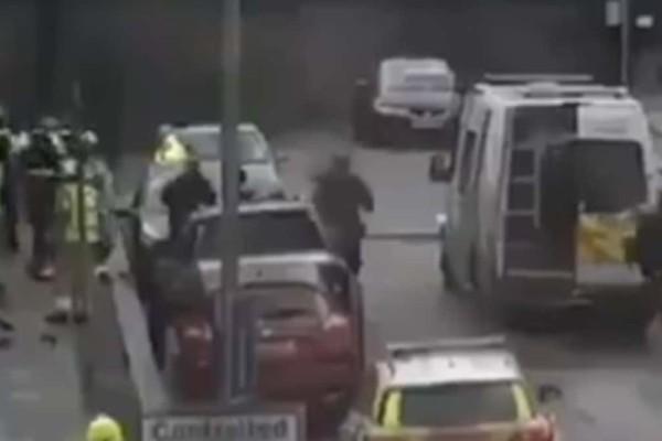 Άγνωστος πέταξε μολότοφ κοντά σε συναγωγή στο Λονδίνο