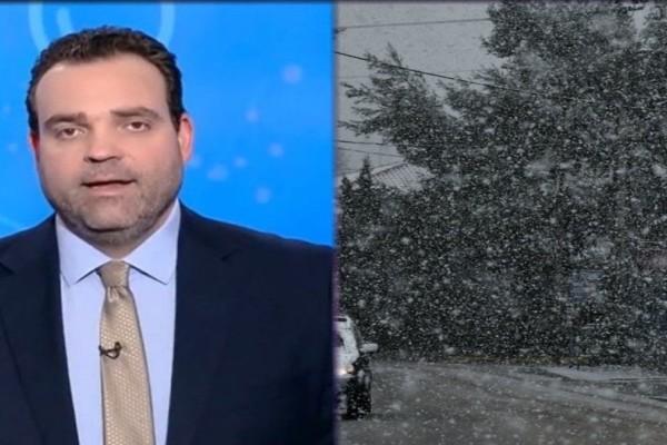 Κλέαρχος Μαρουσάκης: Έρχονται ξανά χιόνια! Κύμα ψύχους το πρώτο 15ήμερο Μαρτίου (photo-video)