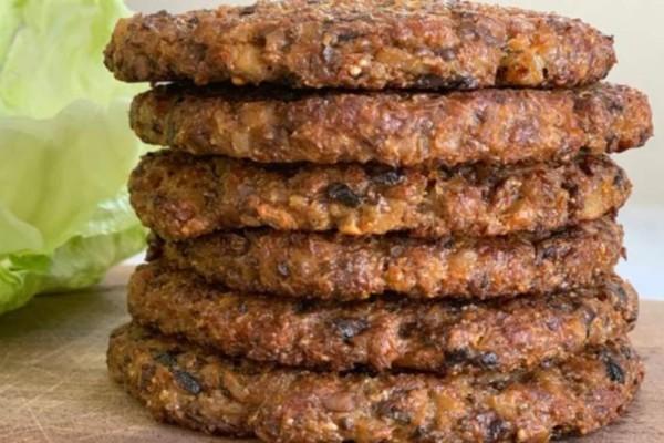 Μπιφτέκια με λαχανικά - Ιδανικά για διατροφή