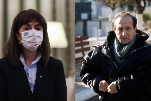 Μήνυμα συμπαράστασης Σακελλαροπούλου σε Μπιμπίλα: «Να αποκαταστήσουμε τα θύματα…»