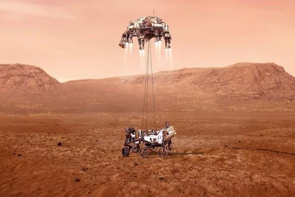 Ιστορική στιγμή: Προσεδαφίστηκε στον πλανήτη Άρη το ρόβερ της NASA - Ξεκινούν οι μεγάλες έρευνες (video)