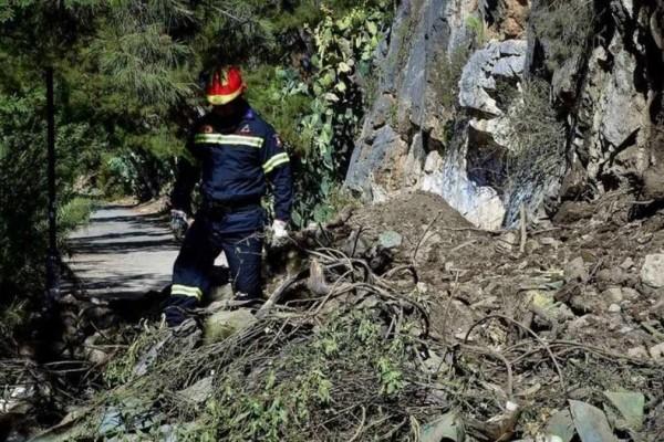 Πάρνηθα: Συνεχίζεται η προσπάθεια ανάσυρσης του νεκρού ορειβάτη