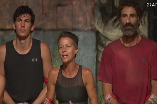 Survivor 4 - Οργισμένη η κόκκινη ομάδα με την Ανθή Σαλαγκούδη:
