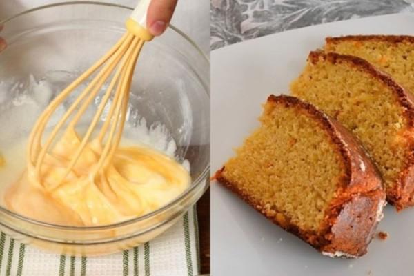 Κέικ πορτοκάλι: Το πιο εύκολο κέικ που δε χρειάζεται μίξερ και γίνεται αφράτο και πολύ νόστιμο