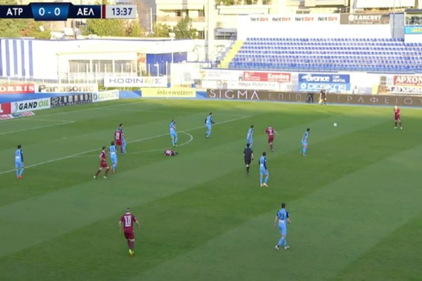 Super League: Χαμένη ευκαιρία για σπουδαίο διπλό ΑΕΛ στο Περιστέρι - Έμεινε στο 1-1 με Ατρόμητο (Video)