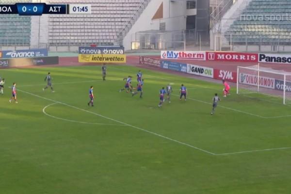 Super League: Μεγάλο διπλό του Αστέρα στο Βόλο (Video)